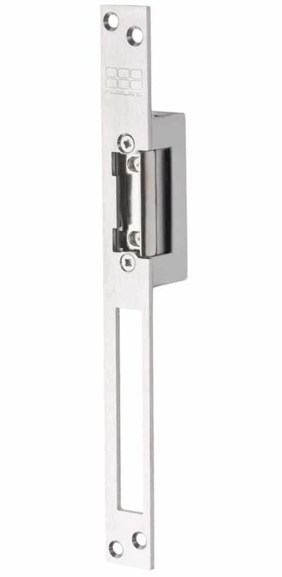 Lange sluitplaat met nachtschootuitsparing deuropener Inbouw 3.250 N houdkracht, axiaalType : A10B | A10U | AP10U | AI10U | API10U | R10U | R10F