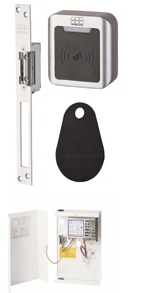 Standalone paslezer deuropener set S10u, 1201EL, KS300, XK5P10, pebble