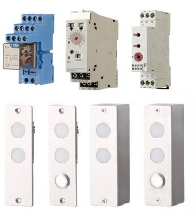 Displays en klokken relais