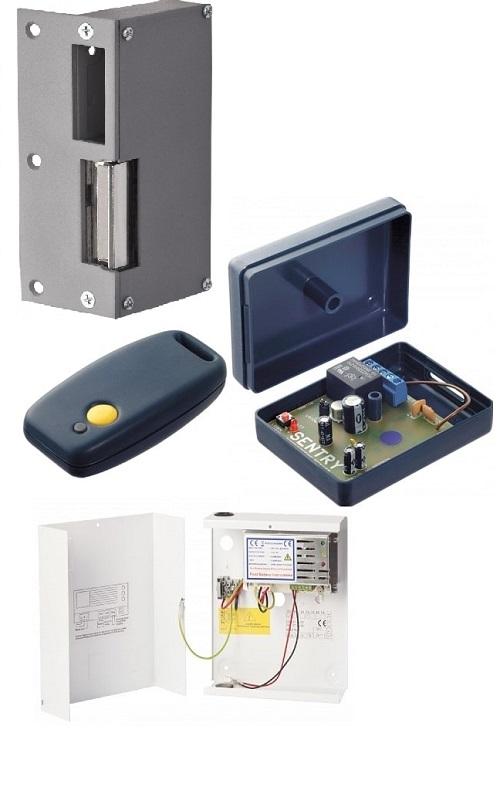Eenvoudig je opbouwslot elektrisch draadloos bedienen