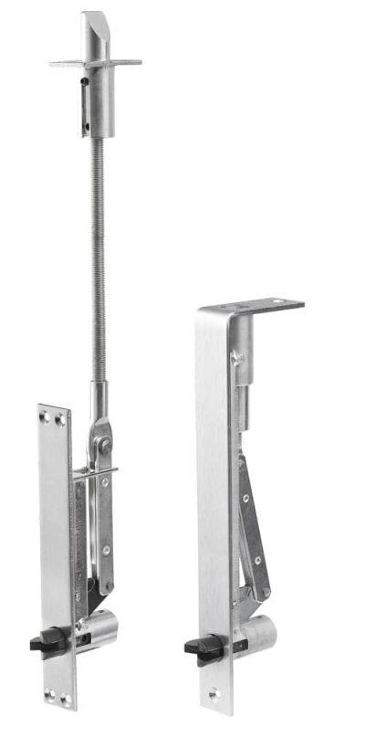 Automatische kantschuiven voor dubbele houten of aluminium/stalen deuren